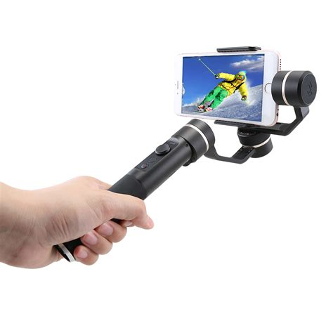 Feiyu Tech Spg Gimbal 3 Axis Stabilizer Handheld Iphone Black feiyu tech spg 3 axis stabilizer handheld smart phone