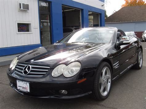 mercedes sl convertible in connecticut for sale used
