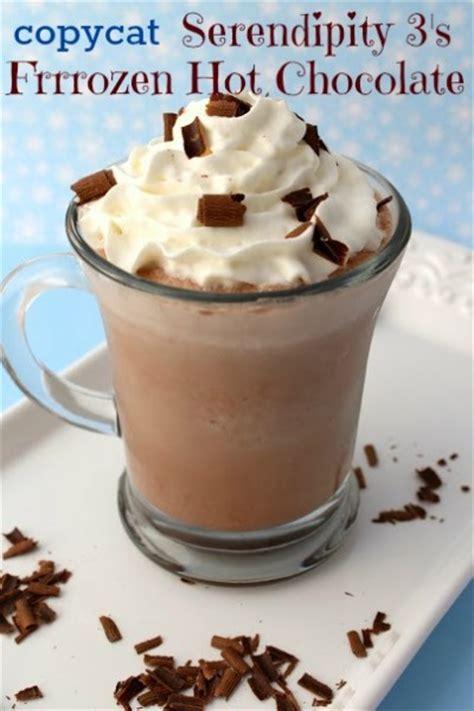 frozen hot chocolate recipe serendipity copycat serendipity frozen hot chocolate recipe the