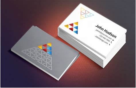 home business cards template 10 beautifully designed free small business card templates