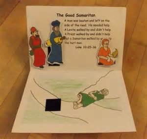 bible story good samaritan crafts