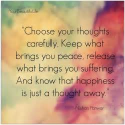 Inspirational picture quotes choose your thoughts carefully