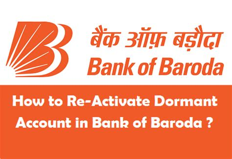 Letter Of Credit Bank Of Baroda How To Re Activate Dormant Account In Bank Of Baroda