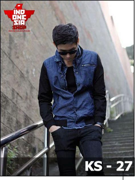 Jaket Denim Pria Cz hanya pria keren yang boleh masuk jaket korea style