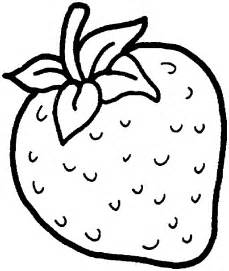 strawberry coloring page black and white clipart of strawberry clipartsgram