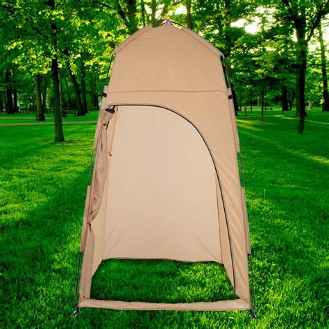 pop up bathroom tent tomshoo outdoor shelter cing shower bath tent pop up