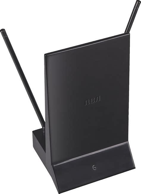 rca indoor dipoleplate hdtv antenna black