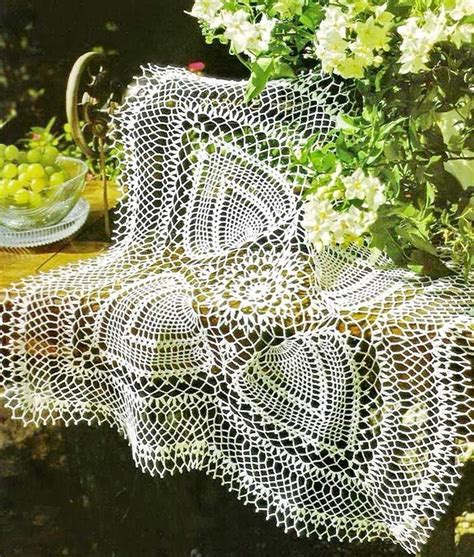 pattern crochet tablecloth crochet art crochet tablecloth pattern fabulous square