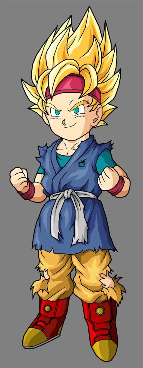 Imágenes De Goku Junior | este es goku jr no goku dicen q es pero no es veanloo