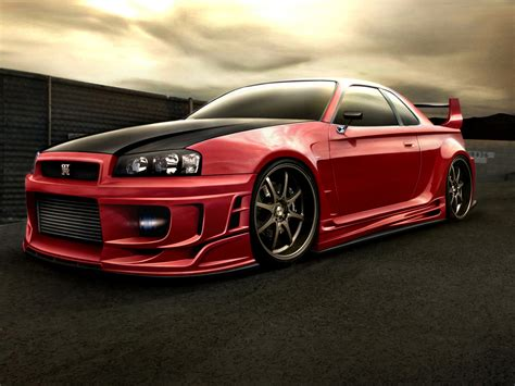 Nissan Gtr 34 Nissan Skyline Gtr 34 By Sb Design On Deviantart