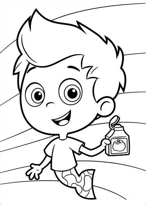 bubble guppies coloring pages printable photo 84481