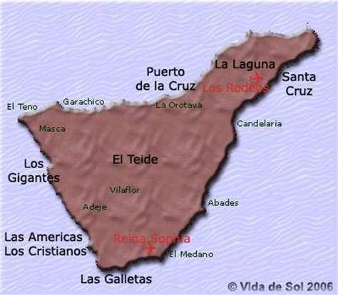 Vida de Sol en Tenerife: Comment aller et se deplacer a Tenerife