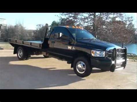 dodge ram 3500 truck bed for sale 2010 dodge ram 3500 slt cummins diesel 4x4 flat bed for