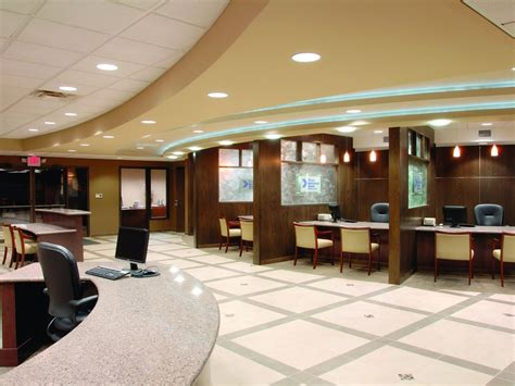 Bank Interior Design by Minnesota Shopping Center Association 2009 Winners