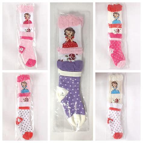 Kaos Anak Perempuan Pensil Ungu kaos kaki anak perempuan selutut kaos dan perlengkapan anak