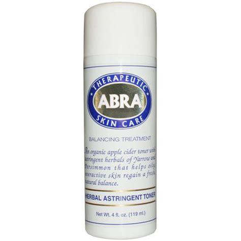 Toner Astringent herbal astringent toner 4 oz abra therapeutics