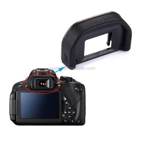 Promo Eye Cup Eb For Canon sunsky eyecup ef for canon 350d 400d 450d 500d 550d 600d 1000d 1100d black