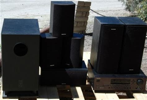 onkyo ht r520 6 1 surround sound home theater system
