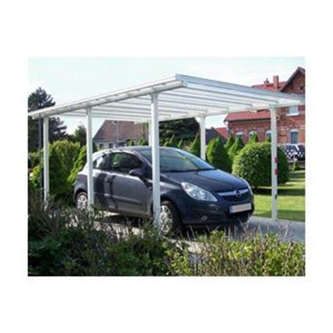 beckmann carport aluminium carport voiture aluminium comparer 53 offres