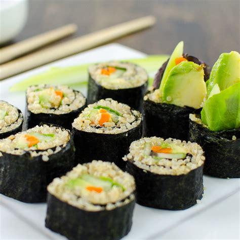 roll sushi veggie sushi rolls recipe dishmaps