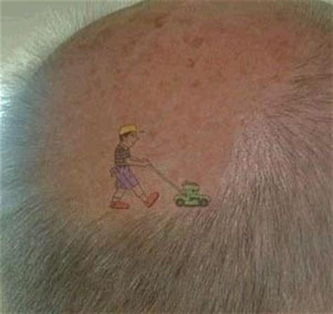 lawnmower tattoo lawn mower if you got it wear it