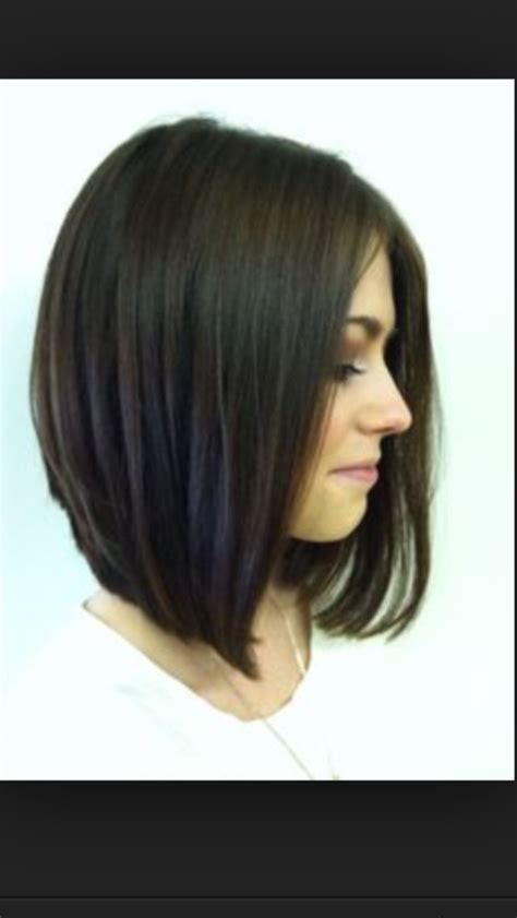how long to grow hair from short angled bob to long bob long angled bob hair make up pinterest my hair