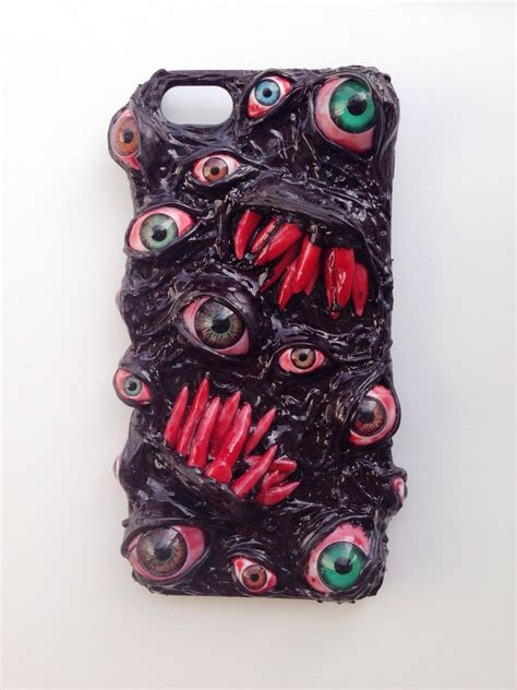Handmade Cases - handmade decoden phone surreal custom horror phone