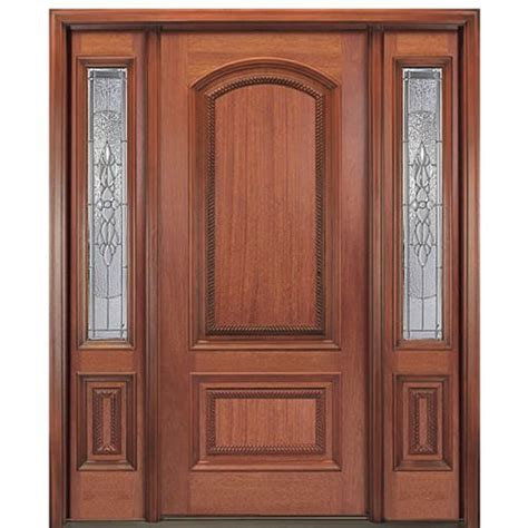 Mahogany Front Door With Glass by Mai Doors Mr85ap 214 1 2 Square Top Exterior Mahogany Door