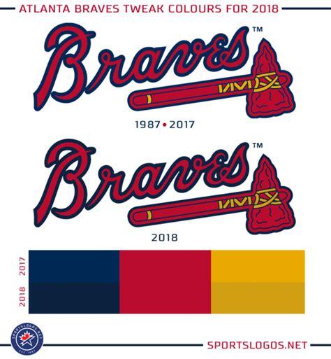 braves colors atlanta braves change colours for 2018 season chris