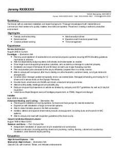 Elevator Mechanic Cover Letter by Elevator Mechanic Resume