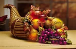 thanksgiving autumn color changing cornucopia centerpiece