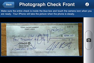 how to sue a bank no more banks deposit your paycheck with an iphone the