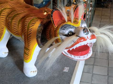 How To Make A Paper Mache Tiger - papier m 226 ch 233 tiger