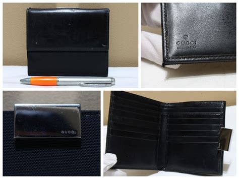 Jual Dompet Gucci Guccisima Leather Black Original Asli wishopp 0811 701 5363 distributor tas branded second tas