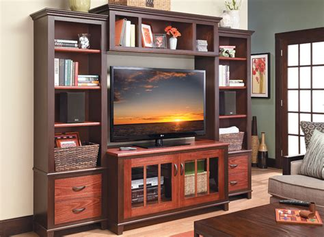 stylish entertainment center woodworking project