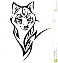 wolf tattoo stock images image 27886494