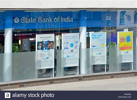 bank of india bse high branch of the state bank of india stock photo