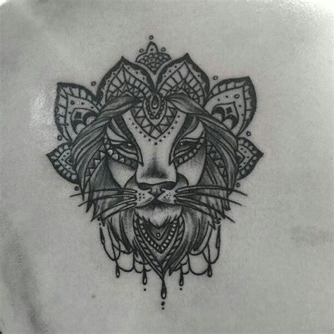 tattoo mandala lion lion mandala tattoo my tattoos pinterest mandalas