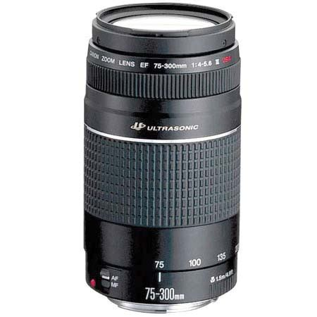 Lensa Canon 75 300mm Ultrasonic lenses canon zoom lens ef 75 300mm iii usm ultrasonic was sold for r1 200 00 on 19 sep at