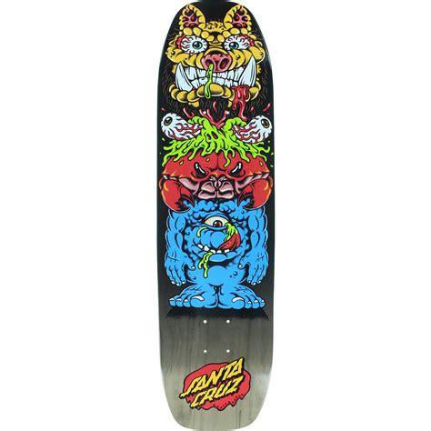 Skateboards Decks by Santa Skateboards Gross Totem Skateboard Deck 8 37