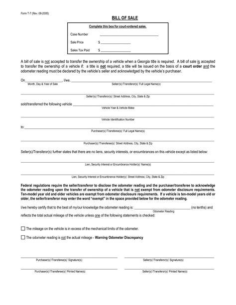 florida boat bill of sale itemized itemized bill of sale gagna metashort co