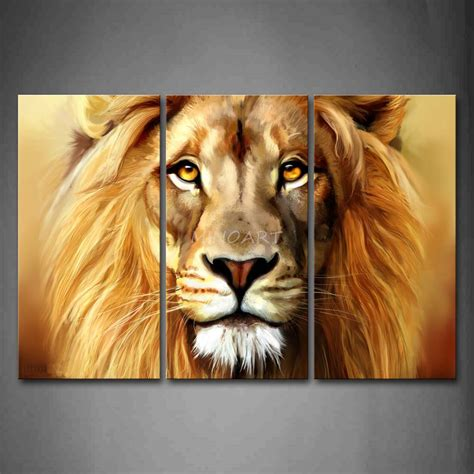 Buy Cheap Home Decor image gallery lion wall art