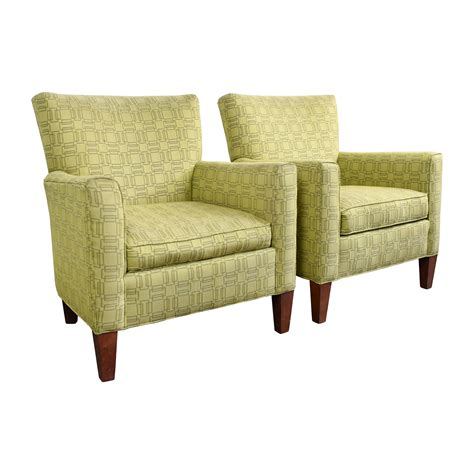 Ethan Allen Recliners 90 Ethan Allen Ethan Allen Green Upholstered Accent Chairs Chairs