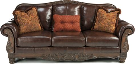 Leather And Wood Sofa Leather Sofas With Wood Trim Leather Sofa With Wood Trim 96 Thesofa
