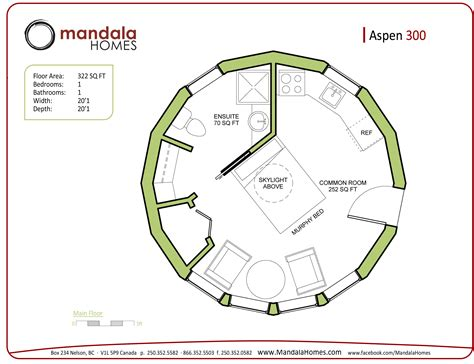 round home design plans aspen series floor plans mandala homes prefab round