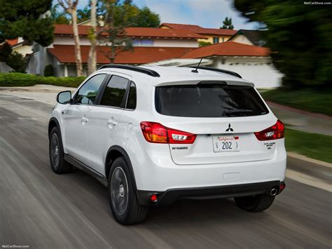 mitsubishi crossover white mitsubishi outlander sport 2015 cars white suv wallpaper