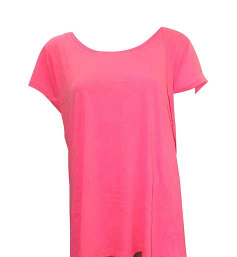 joblot of 20 t shirts fluorescent pink tagged ex