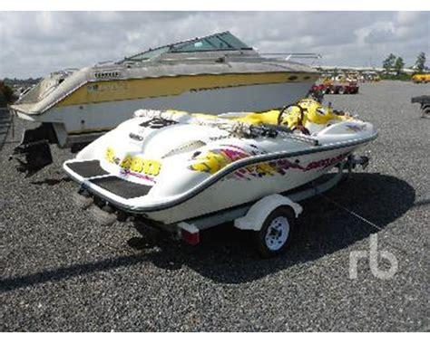 seadoo boat vin number 1997 sea doo speedster boat for sale humble tx
