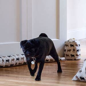 pug door stop pug linen door stop door stops draught excluders