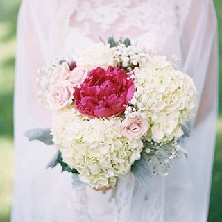 Wedding Pictures With Flowers by Hydrangea Wedding Bouquets Brides